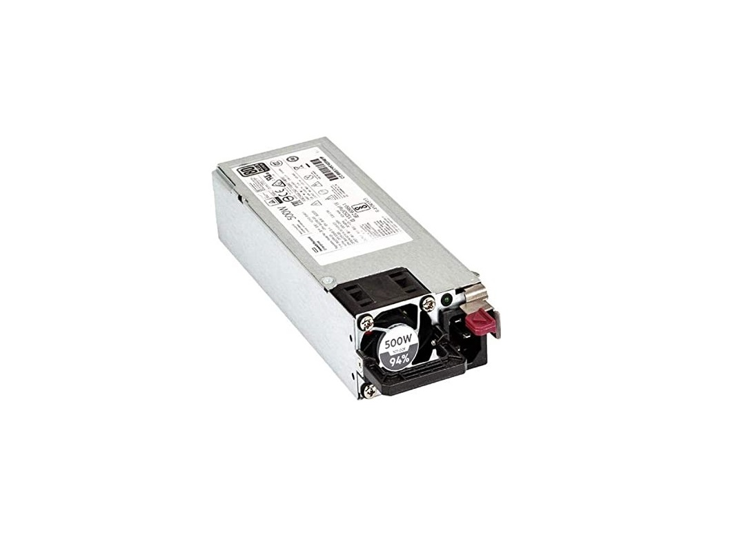 Hp 500W 80 Plus Platinum Power Supply For DL360 Gen10 Server R1T38A