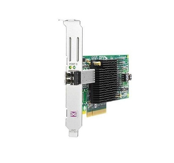 HP 81E 8GB AJ762B 1-Port PCI-E Fibre Channel PCI Express 2.0 x8 Host Bus Adapter