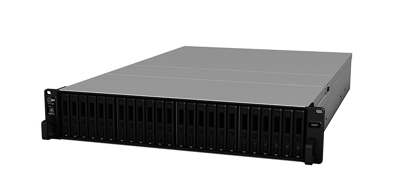 Synology FS2017 24-Bay Flashstation Intel Xeon D-1541 2.1GHz 16GB No Hdd 2U Rack-mountable Nas Storage