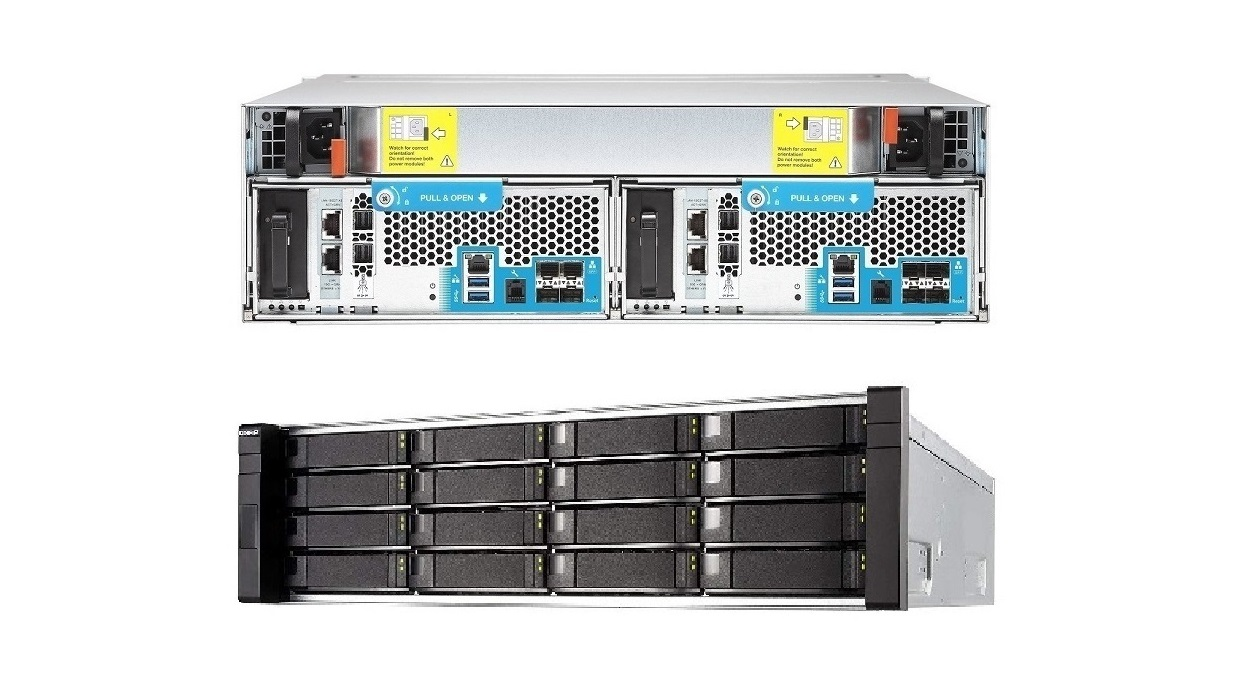 Qnap ES1640DC 2x Intel Xeon E5-2400 v2 2.2GHz 32GB 16-Bay 0-HDD Rack-mountable ES1640DC-V2-E5-96G-US 3U NAS Server