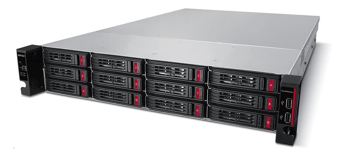 Buffalo TeraStation 51210RH AL-314 1.7GHz 8GB 64TB (4x16TB) 12-Bays 2U NAS Server TS51210RH6404