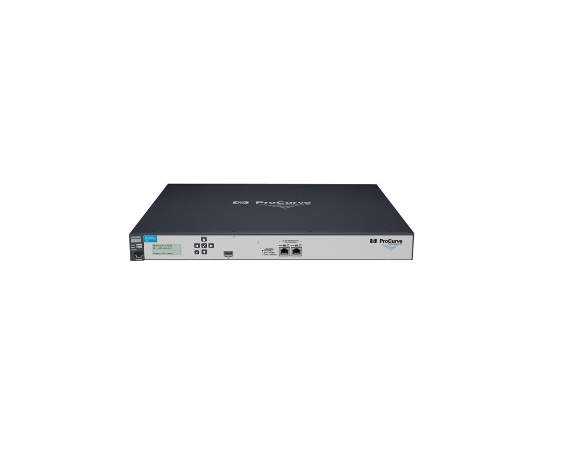 HP Dcm Controller Network Management Device 2 RJ45 10/100/1000-Ports 1U Rack Mountable J9445A