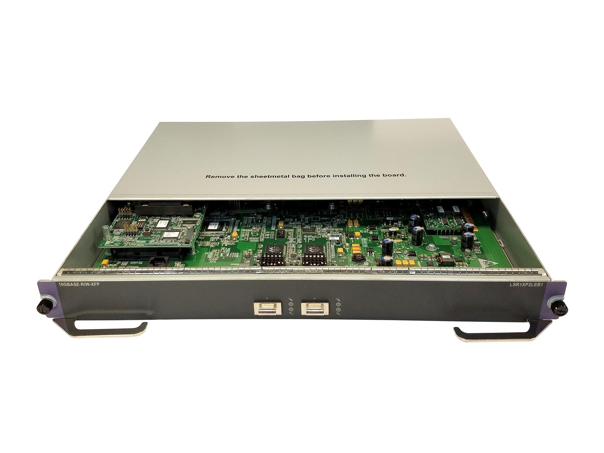 HP A9500 LSR1XP2LEB1 2-Ports 10-GbE XFP Leb Module JC112A