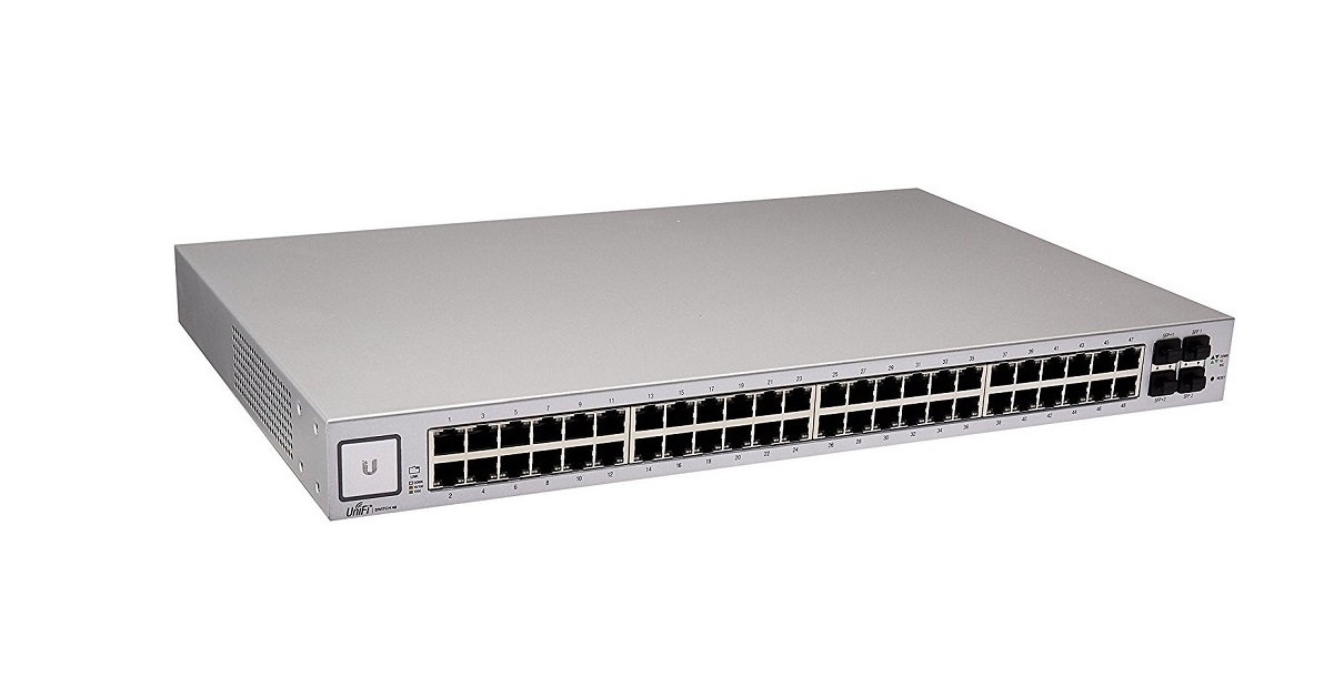 Ubiquiti Unifi 48-Ports Managed 1U Rack-mountable Switch US-48