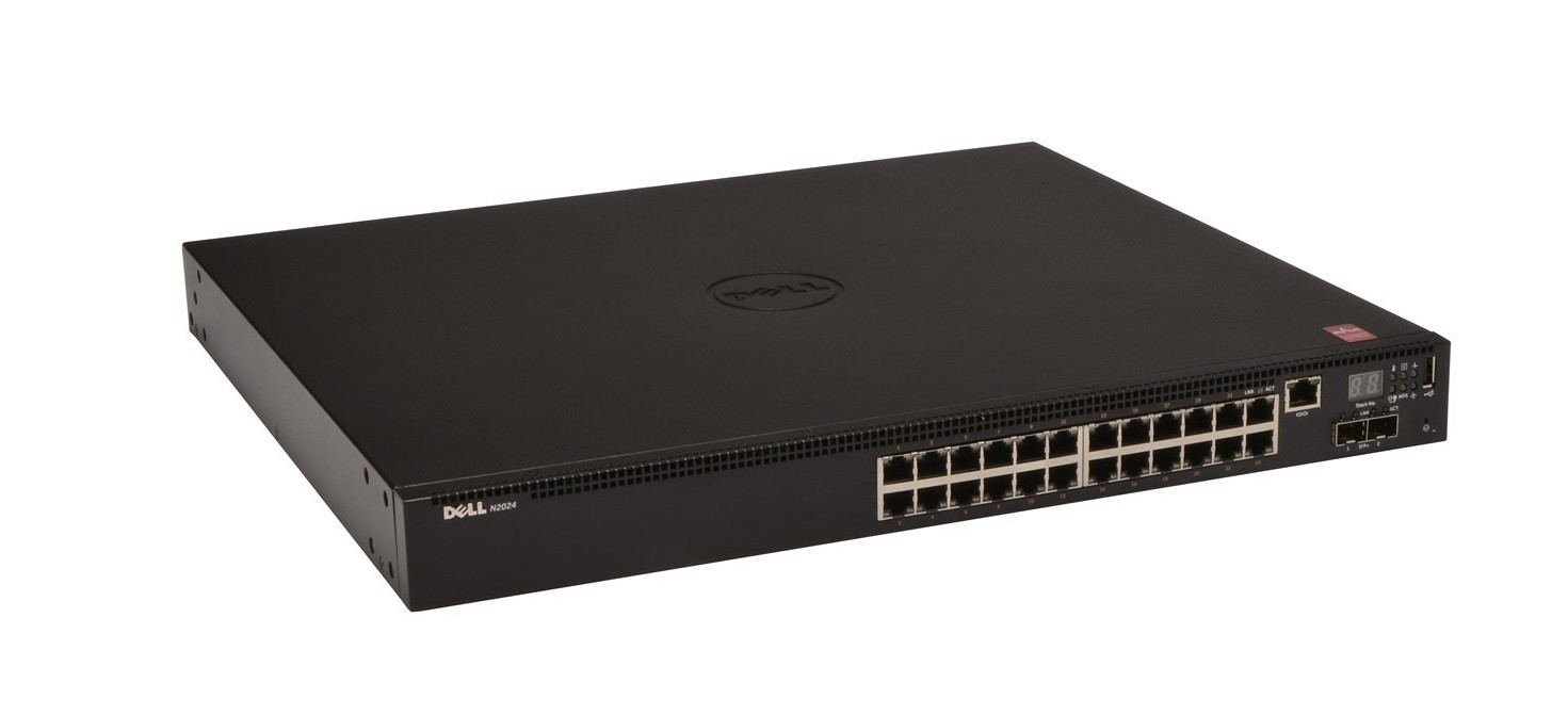 Dell Networking N2024 24-Ports Managed Rack-mountable Switch 463-7702