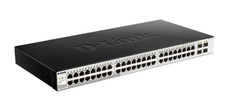 D-Link Metro 48-Ports 4x Sfp Ports (Free) Gigabit Switch DGS-1210-52/ME