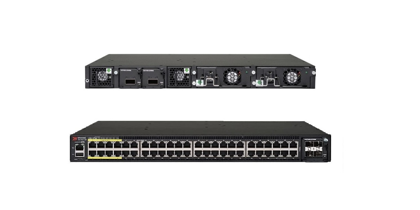 Brocade Icx 7450 48-Ports 1GbE PoE+ Switch ICX7450-48P-E
