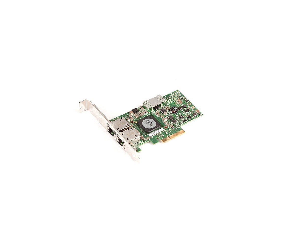 Dell G218C Broadcom Dual Port GigaBit PCI-Express Network Adapter 0G218C