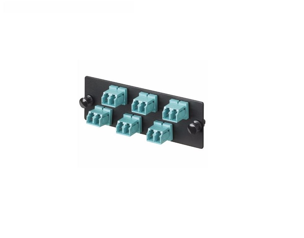Panduit Multi-Mode 6-Ports Adapter FAP6WBLDLC