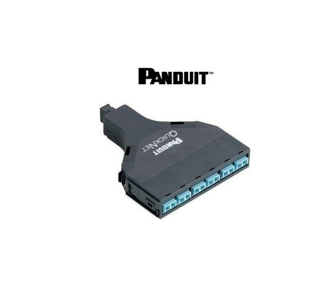 Panduit 12-Fiber Qn Cassette OM2 Duplex LC Mtp Meth A Flipped Adapter FQ5N-12-10AF