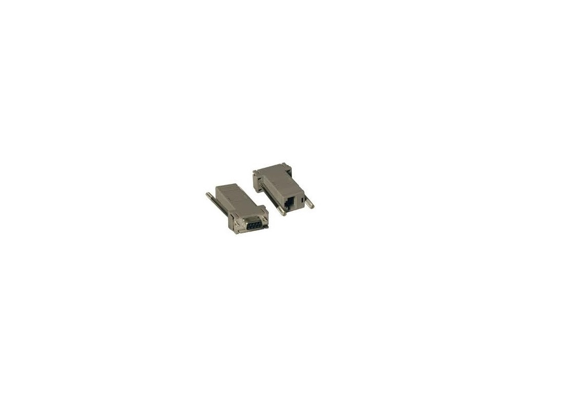 HP Srl Adapter RJ45 To DB9 DCE Female Pack of 5 AF402A