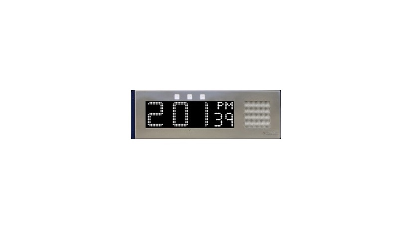 Advanced Network Devices Large IP Clock IPCSL-W-RWB