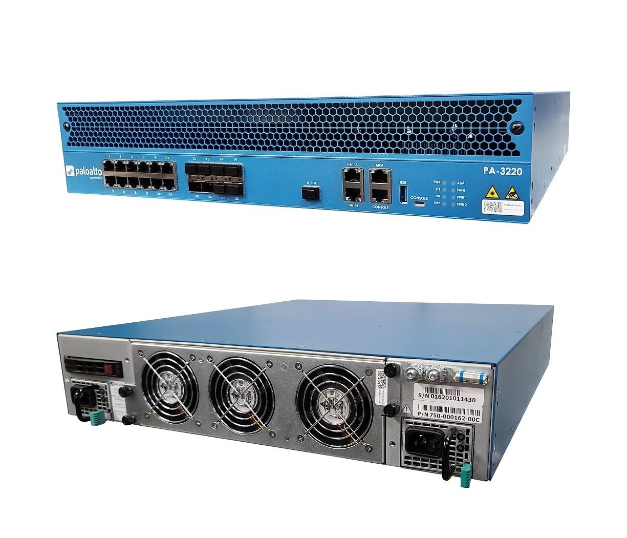 Palo Alto Networks PA-3220 12x RJ45 Intel D1517 1.6GHz 240GB SSD 2U Security Appliance PAN-PA-3220