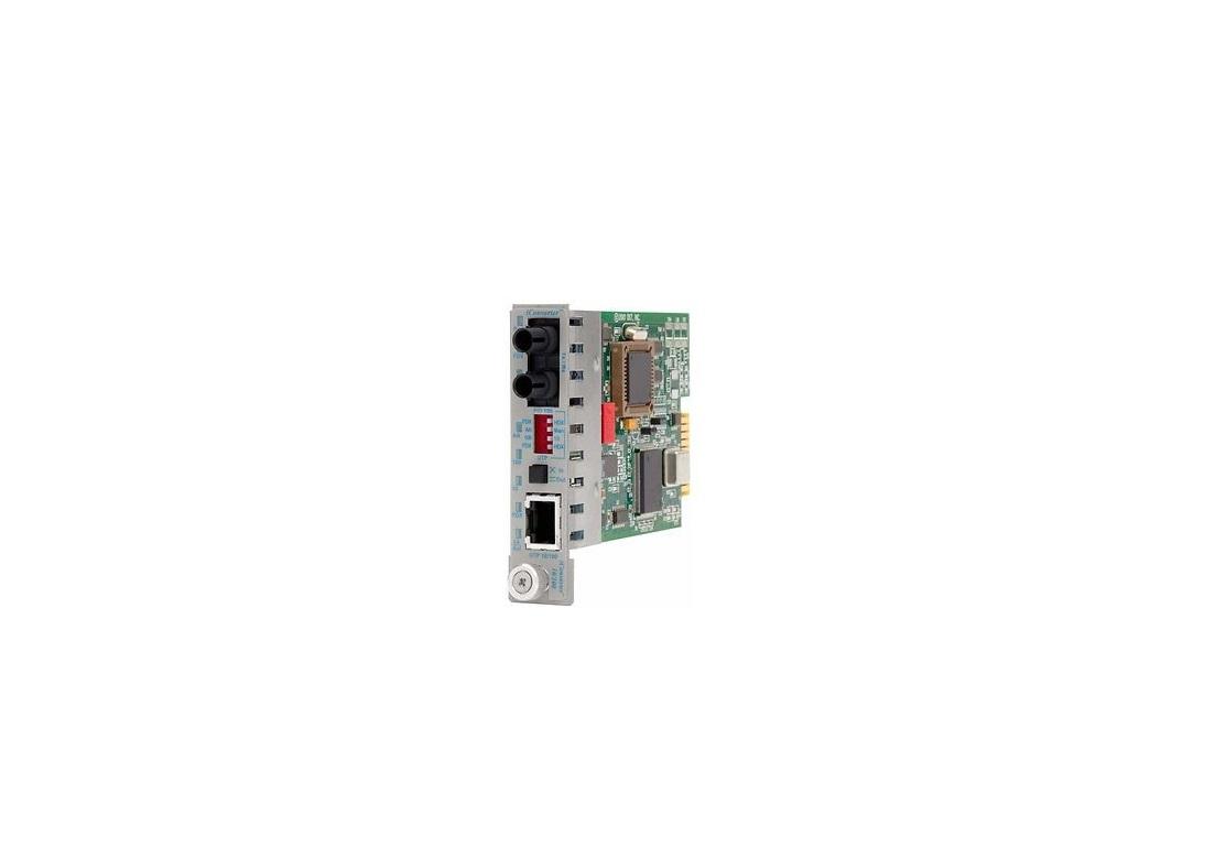 Omnitron 8380-0 Iconverter 10/100 RJ45 To 100 Fiber MM/ST Converter
