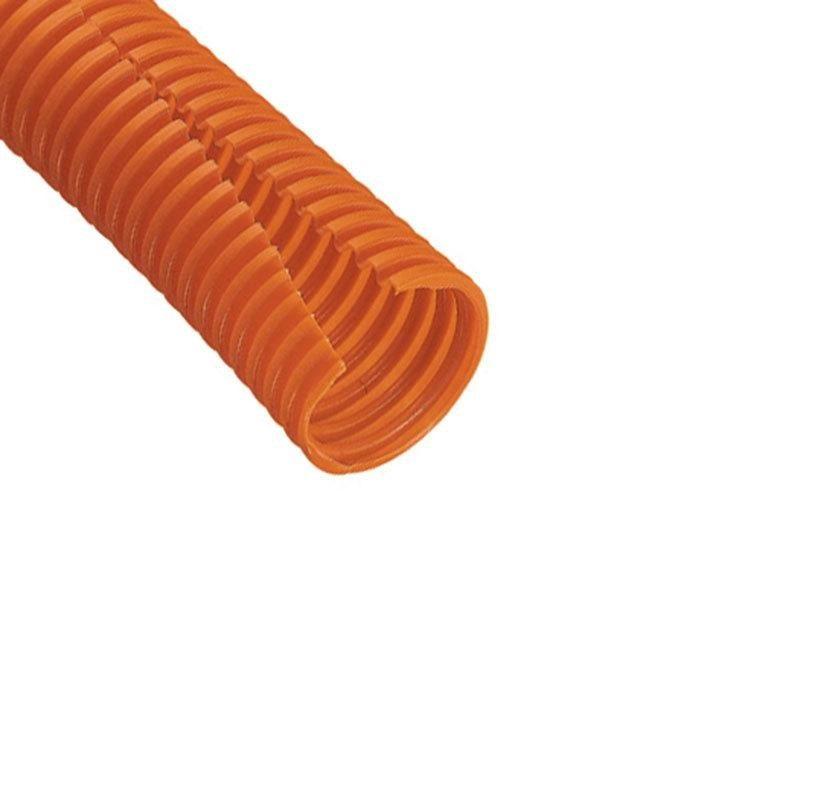Panduit CLT188F-C3 1.88x100' Polyethylene Corrugated Loom Tubing Slit