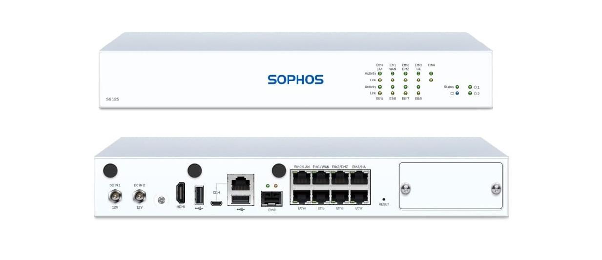 Sophos SG 125 Rev.3 Security Appliance SG1CT3HEK