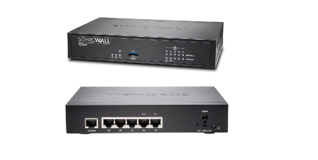Sonicwall TZ300 Totalsecure 5-Ports Security Appliance 01-SSC-0581