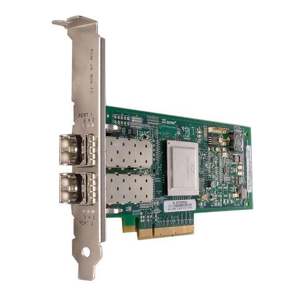 IBM SANblade 8GB Dual Port Fibre PCI-E 42D0512 w/ Transceivers