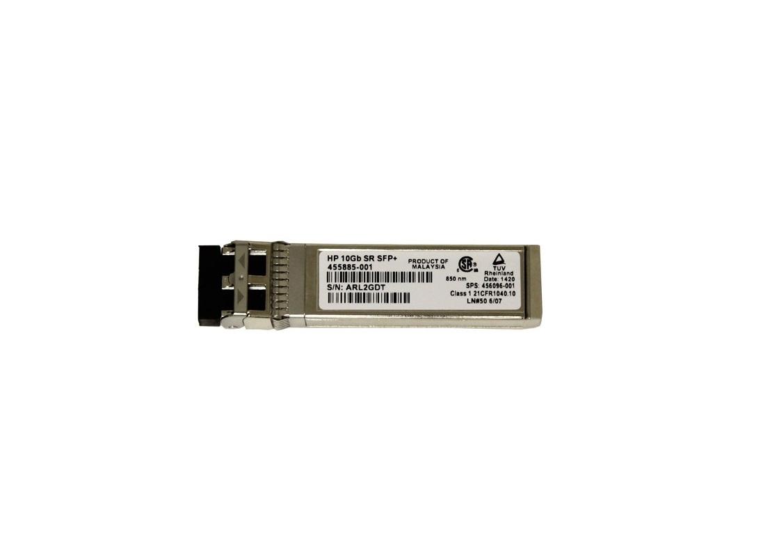 HP Bladesystem Transceiver 10GBase-SR SFP+ 1 X 10GBase-SR 455883-B21