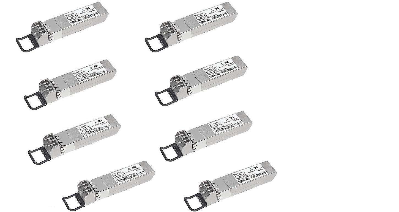 Brocade 10GBase-SR SFP+ Transceiver Module Pack of 8 10G-SFPP-SR-8