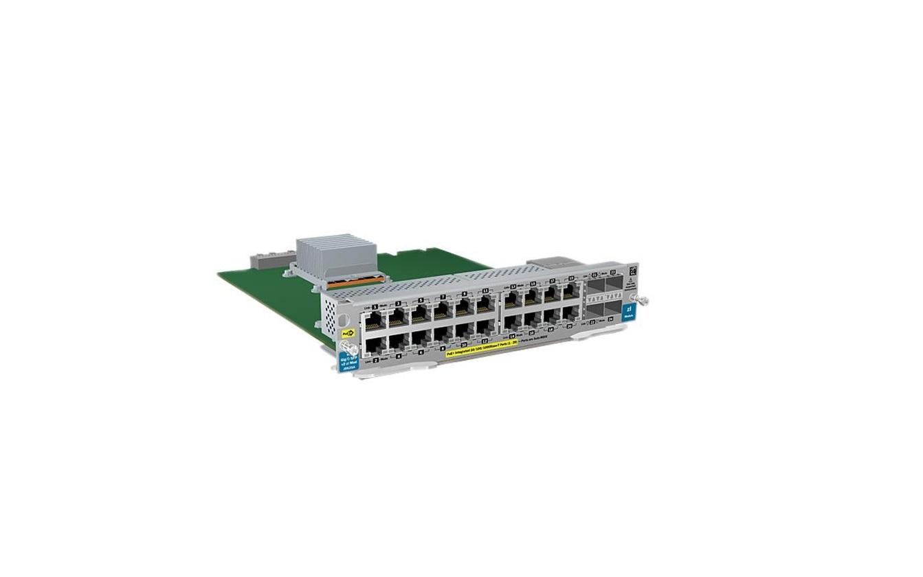 Hp J9535A 20-Ports Gt PoE+ 4-Ports Sfp V2 Zl Module