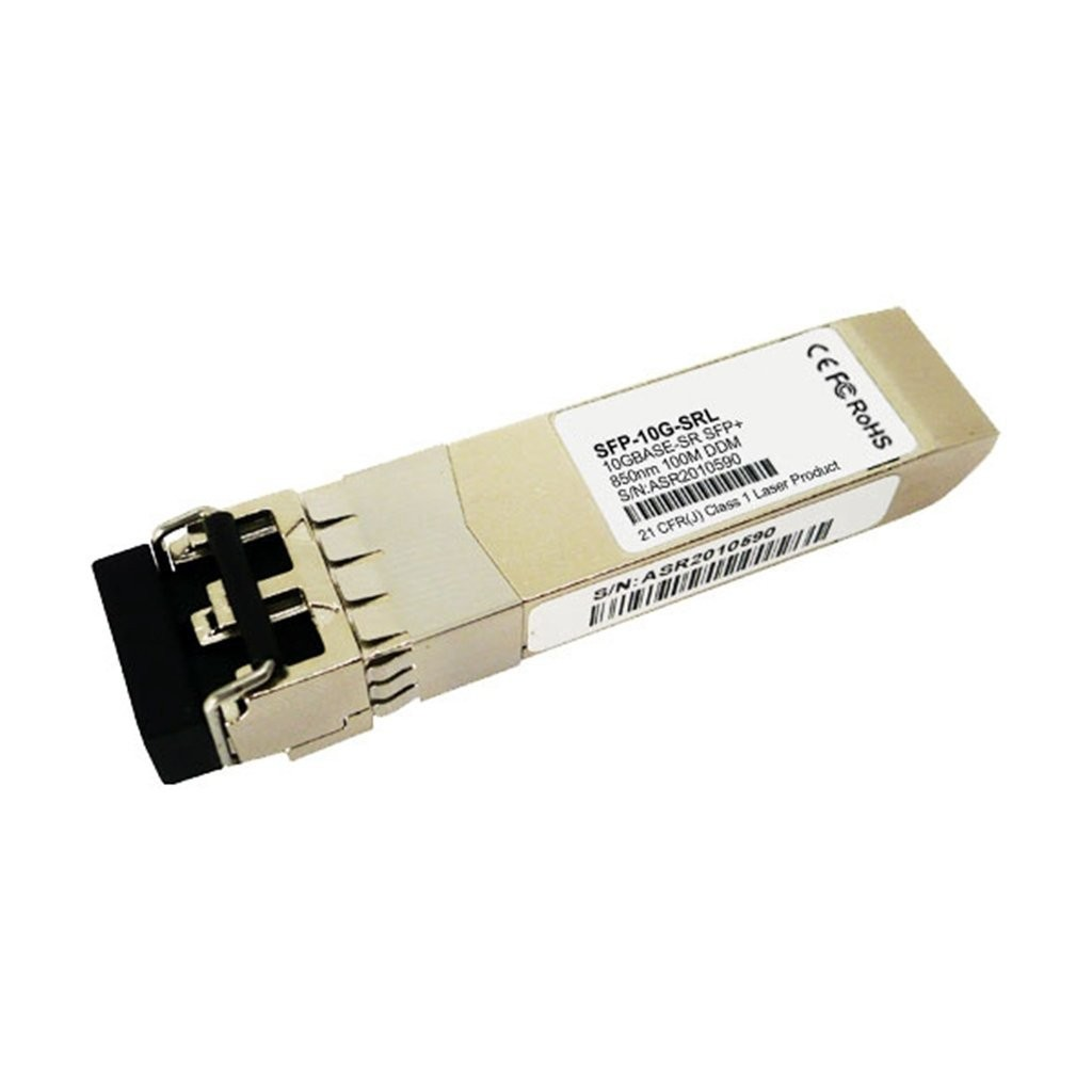 Lot of 100pc 10GB Arista 10Gbase-SR SFP+ 850nm Short Reach Transceiver SFP-10G-SRL-(100-Pack)