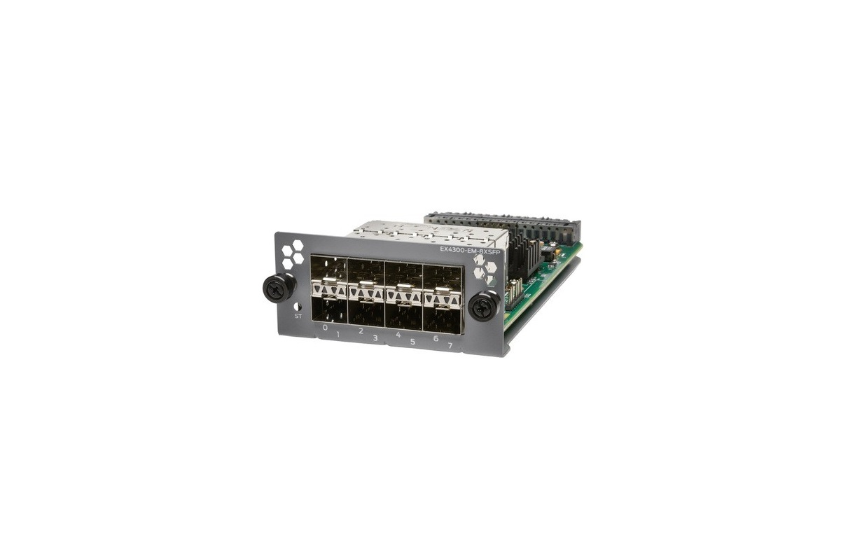 Juniper EX-UM-8X8SFP 8-Ports X 10-Gigabit Ethernet SFP+ Uplink Module EXUM8X8SFP