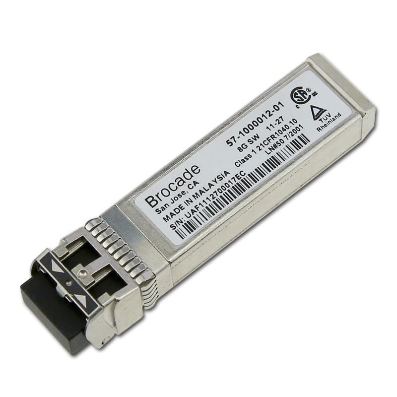 8GB Brocade Genuine Shortwave SFP+ SW 850NM Transceiver 57100001201 57-1000012-01