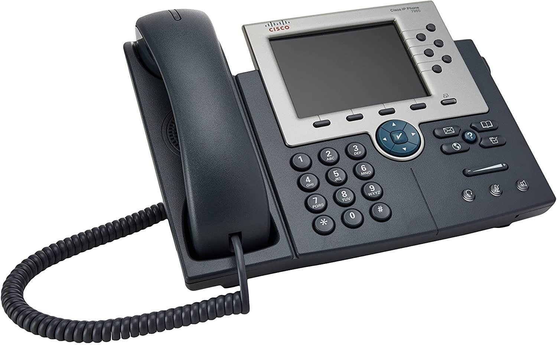 Cisco 7900 Series Unified Ip Phone 7965G Voip Sip Silver Dark Gray CP-7965G=