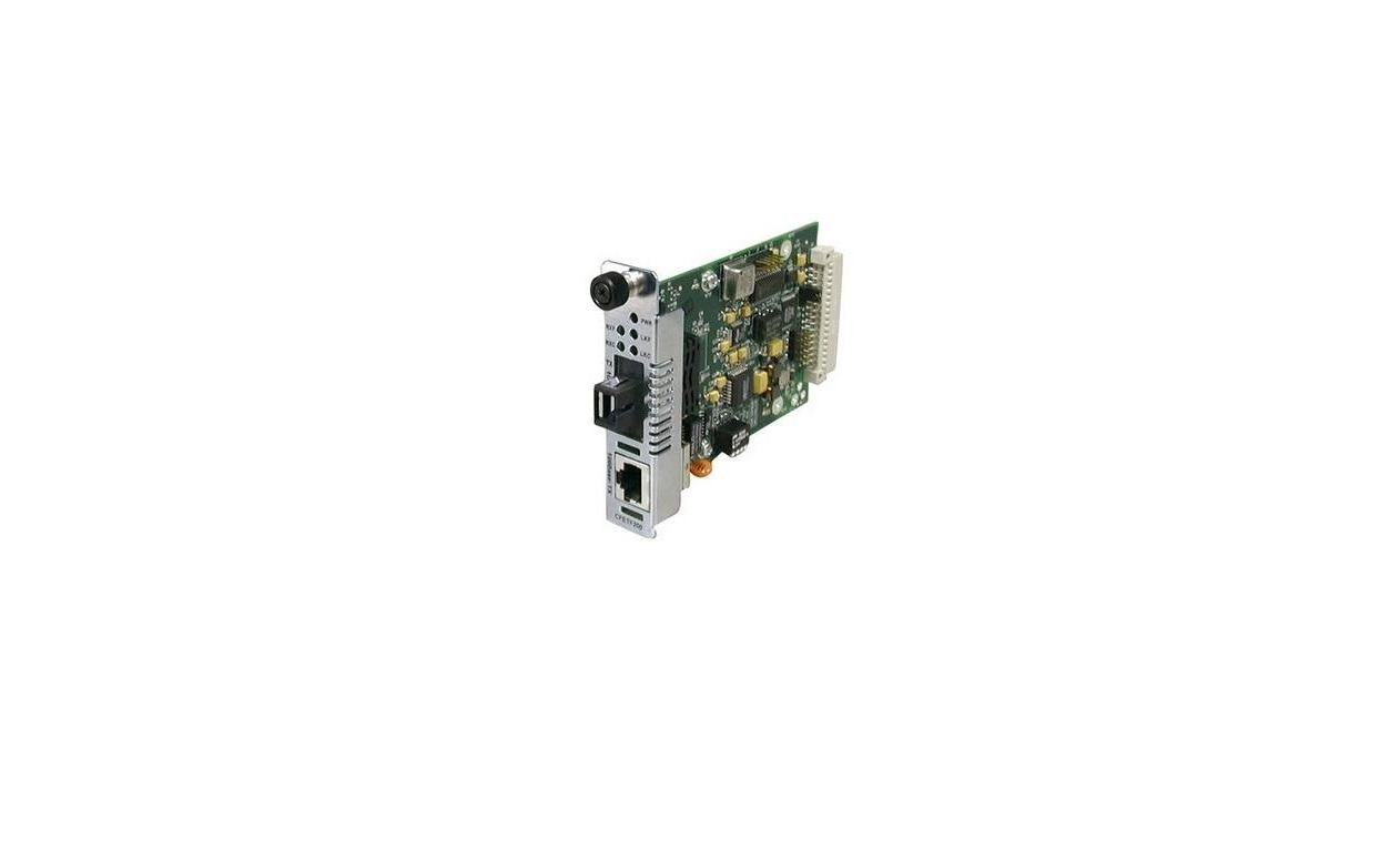 Transition Networks RJ45 To LC Multi-Mode Fiber Media Converter CFETF1039-205