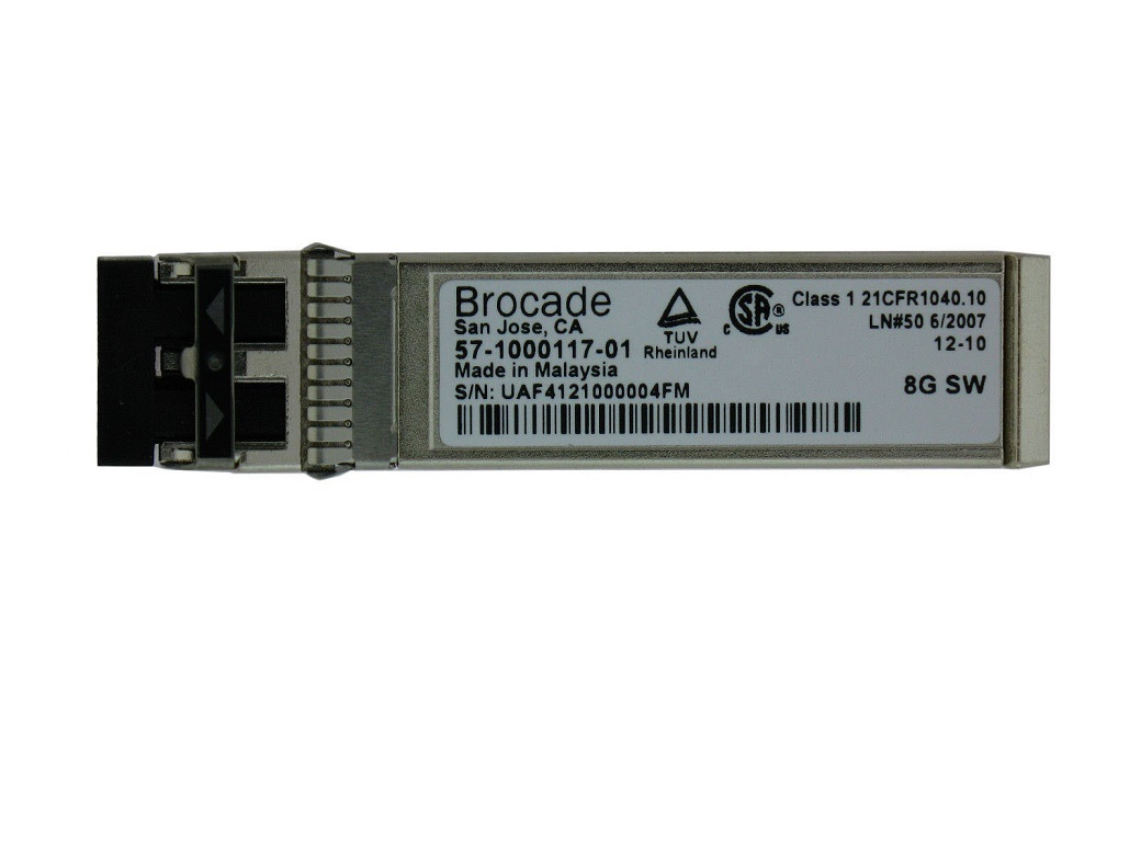 8GB Brocade 1-Pack SW SFP+ Optical Transceiver Module 57100011701 57-1000117-01