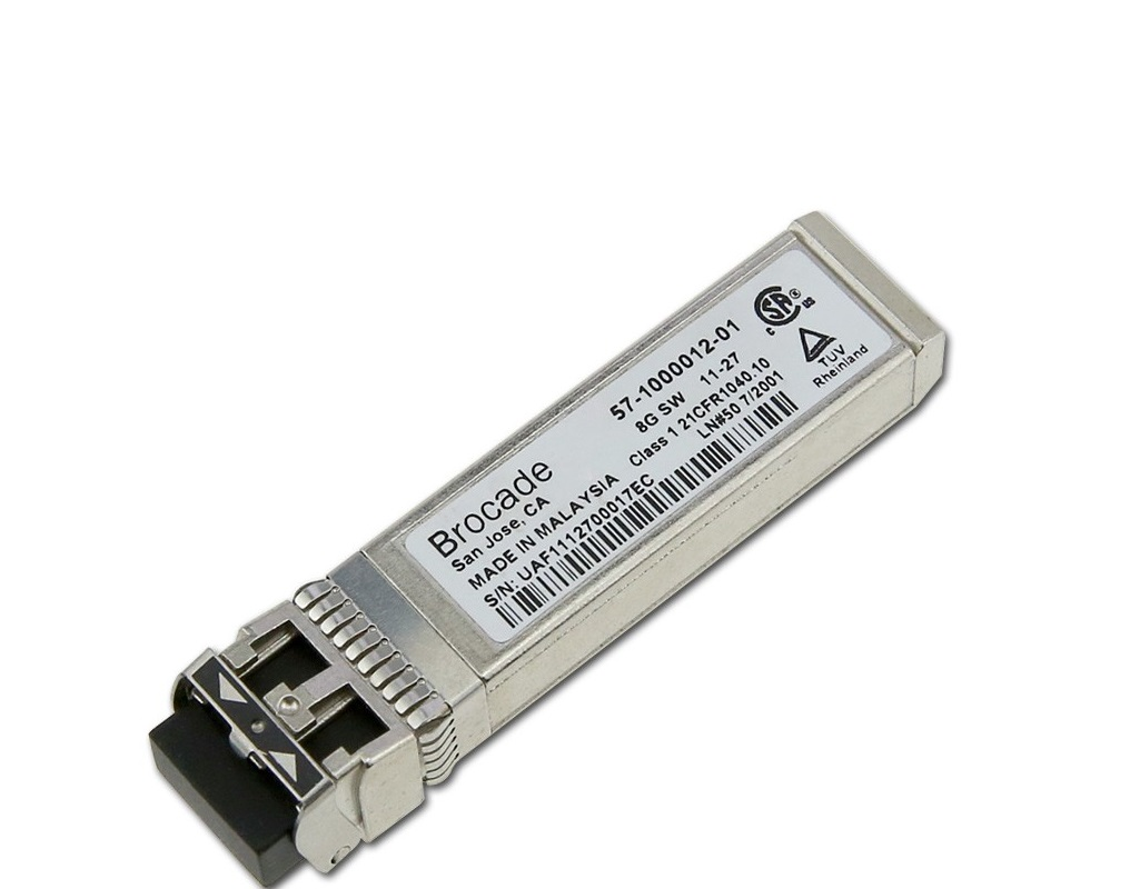 8GB Brocade (8-Pack) Genuine Shortwave SFP+ SW 850NM Transceiver XBR-000148 57-1000012-01