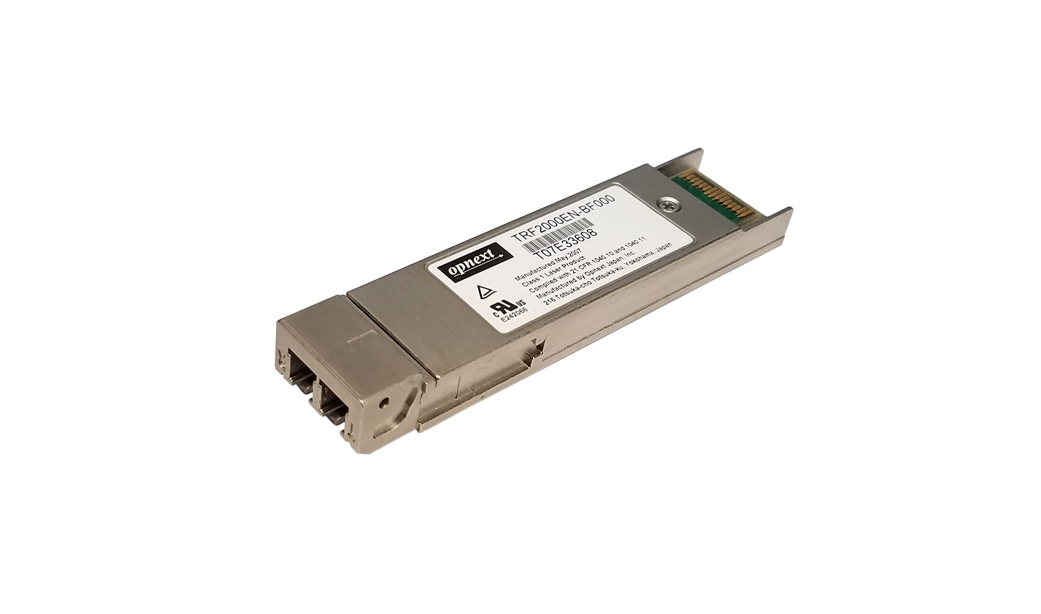 10GB Opnext Original 10GB/s MMF SFP+ Tranceiver 850nm 300m TRF2000EN-BF000