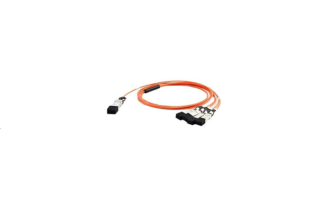 Cisco QSFP To 4 SFP+ Active Optical Breakout Cable QSFP-4X10G-AOC5M=