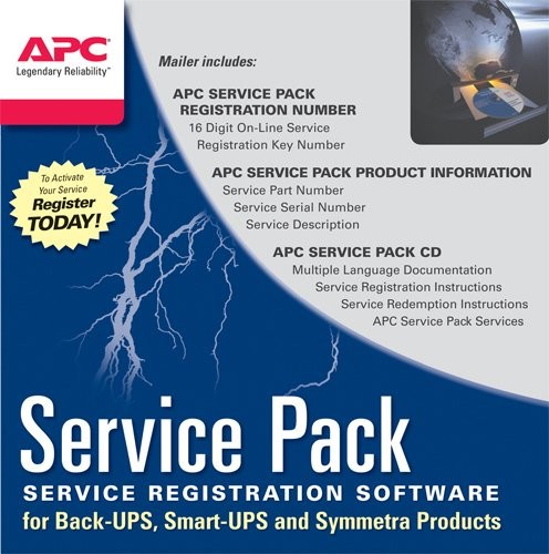 APC one Year Extended Warranty WBEXTWAR1YR-SP-04