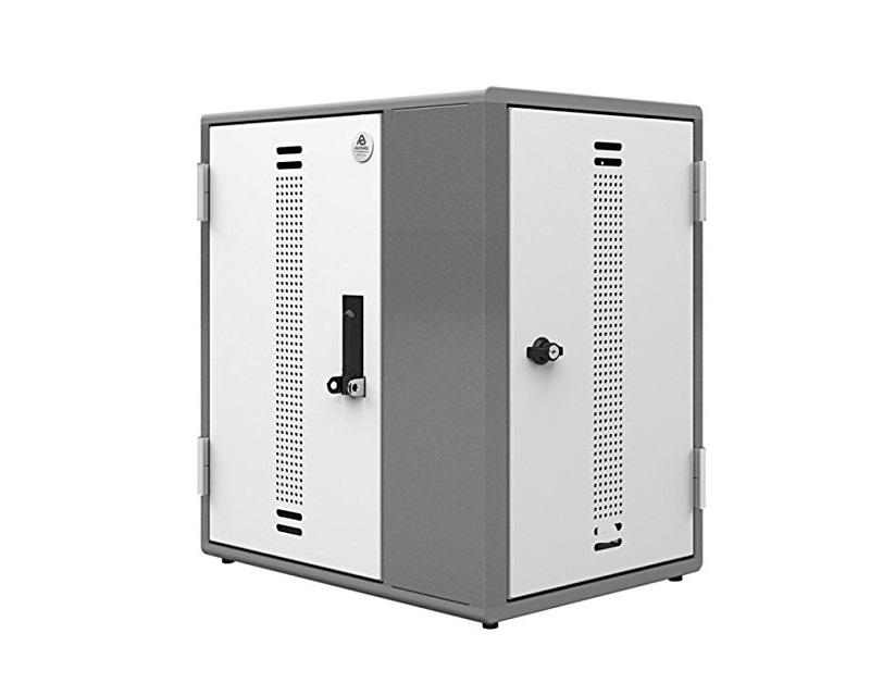 Ergotron YES12 Charging Cabinet For 12 Mini-laptops YESMLCGMPW.