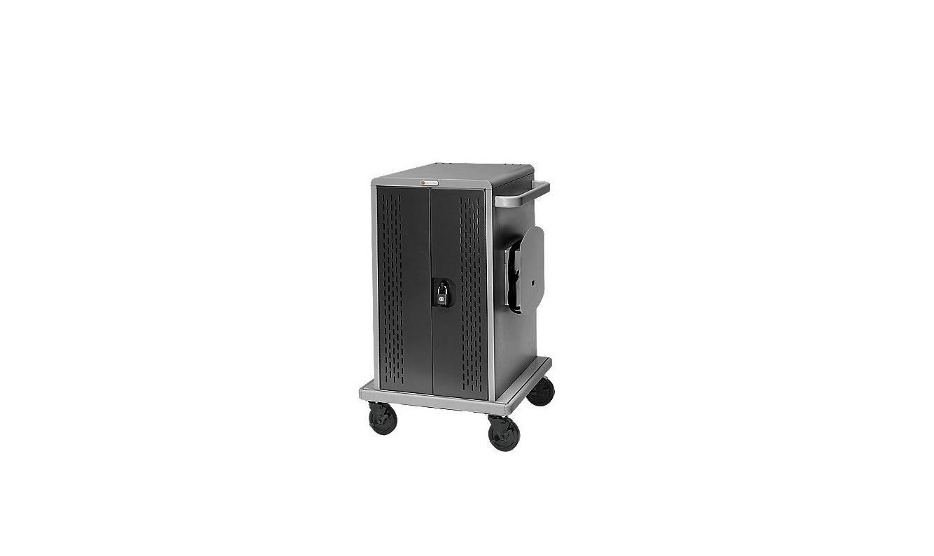 Bretford CDWCHROME36 36 Unit Chromebook Cart w/Doors w/Casters Back Panel