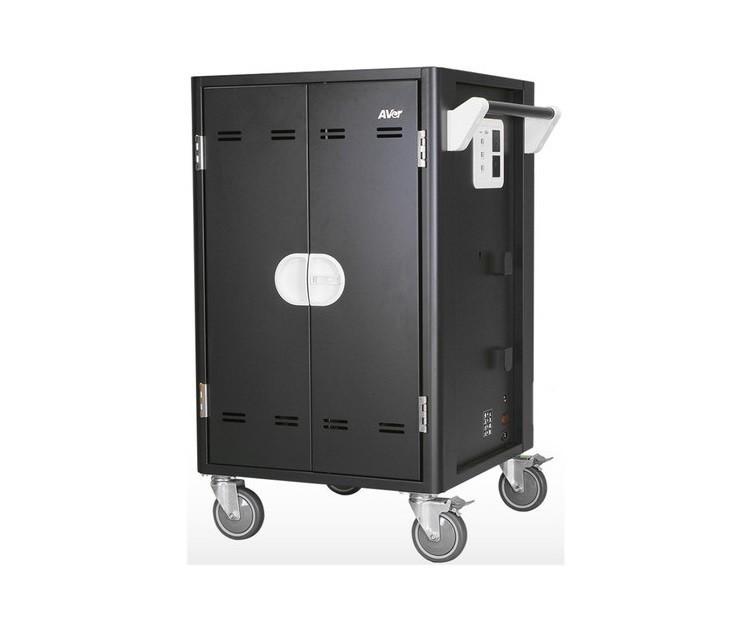 AVer Information Avercharge C30I+ 30 Device Charging Cart CHRGC30I+