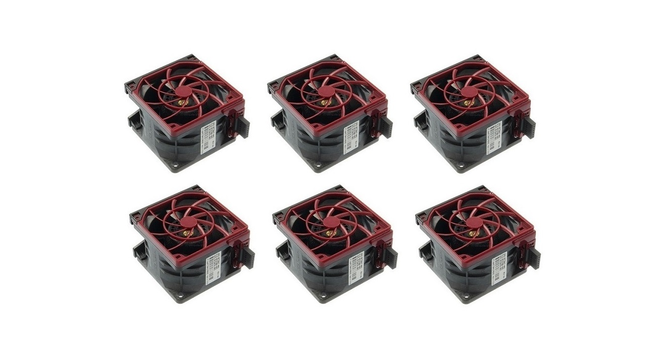 HP High Performance Temperature Fan Kit (6x Fans) For DL38X Gen10 867810-B21