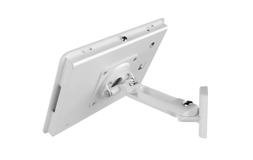 Maclocks 827W White Rokku Swing Premium Ipad Enclosure Stand For Ipad Air/ Ipad Pro 9.7 827W260ROKW