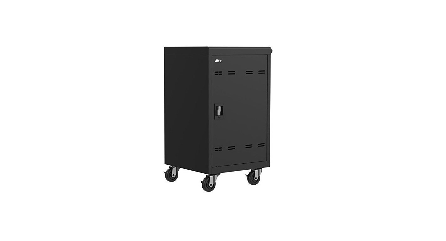 AVer Charge B30 Laptop 30 Devices Charging Cart Black CHRGEB030
