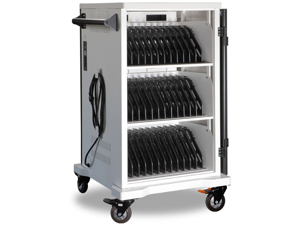 Anywherecart 36 Bay Secure Charging Cart With 45W P/S AC-SLIM-PW45