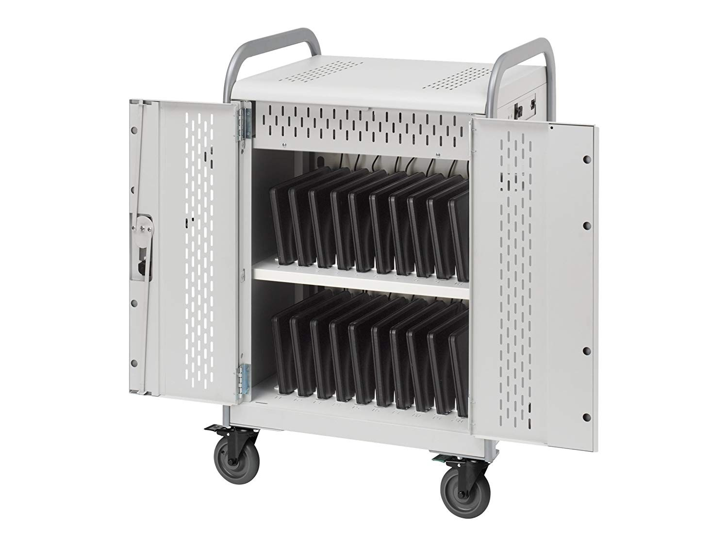 Bretford MDMLAP20-CTAL 20-Unit Mdm Laptop Cart With Backdoors