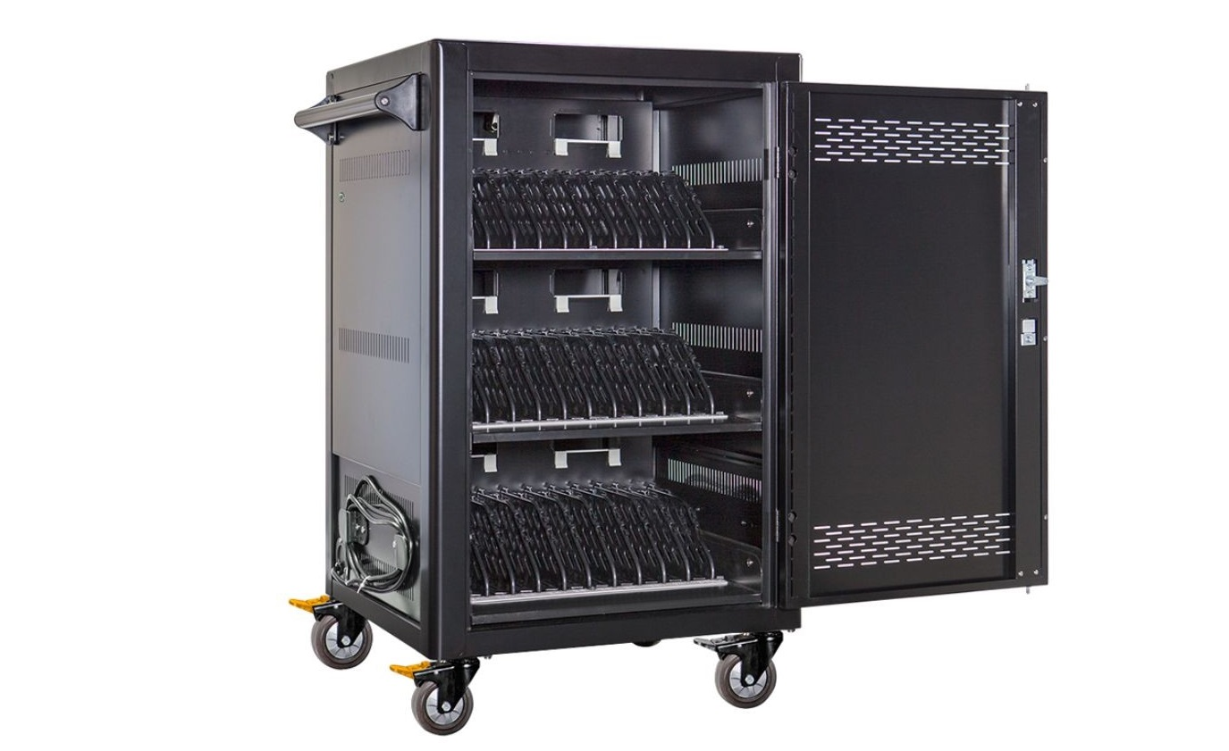 Anywhere Cart 36 Tablets Notebooks Bay Cycle Charging Cart AC-CDW-36
