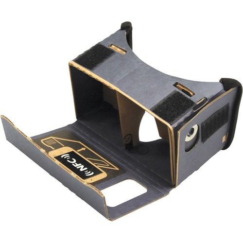 Hamiltonbuhl 3DGV12 Cardboard Virtual Reality Goggles For Smartphones Pack of 12-Pack