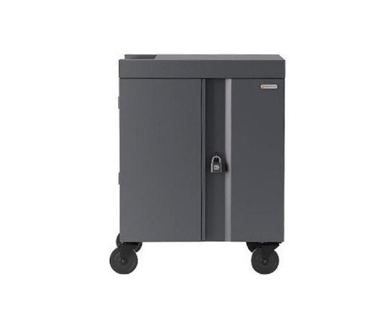 Bretford Cube TVC36USBC Pre-Wired USB-C Cart For 36 Tablets TVC36USBC-CK