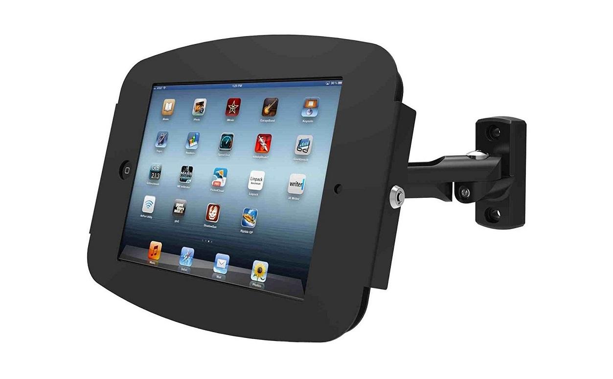 Maclocks Enclosure With Swing Arm Wall Mount For Galaxy Tab E 8 Black 827B680EGEB