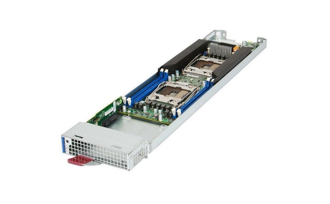 Supermicro MBI-6128R-T2 Microblade Dual LGA2011 (No Hdd) Server Blade Module Black MBI-6128R-T2-PACK