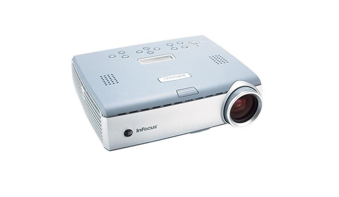 Infocus LP600 XGA 1024x768 2000 Lumens DLP Projector LP600
