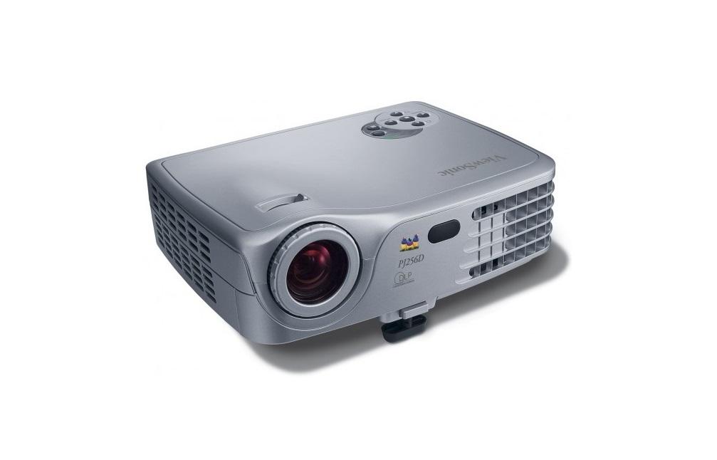 ViewSonic Portable XGA 1024x768 1500 ANSI Lumens DLP Projector PJ256D